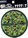 キャラクター 刺しゅうワッペン スヌーピー(Woodstock)( キャラクターワッペン アップリケ アイロン 刺繍 かわいい おしゃれ マーク キッズ 子供 こども 男の子 女の子 入園 入学 )