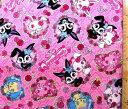 <キャラクター生地・布>・ジュエルペット(ピンク)#13【キャラクター】【生地】【布】【キャラクター