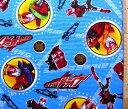 キャラクター 生地 布 仮面ライダードライブ(ブルー)【キャラクター】【生地】【布】【キャラクター生地】
