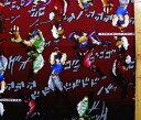 <キャラクター生地・布>ジョジョの奇妙な冒険(エンジ)【キャラクター】【生地】【布】【キャラクター生地】