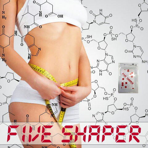 ファイブシェイパー (ファイブシェイパー(FIVE SHAPER) [ ダイエットサプリ 脂肪燃焼 ブラックジンジャー 金時ショウガ キャンドルブッシュ 効果 ]