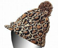 New York Hat(ニューヨークハット) ニットキャップ #4681 LEOPARD RADAR