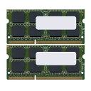 【バルク品】 増設メモリ SO-DIMM ・DDR3L・1333MHz・PC3L-10600・204pin・8GB×2枚組 GBN1333L-8GX2