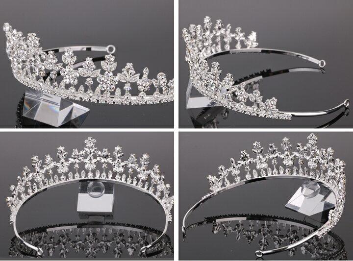 スワロフスキークラウン 王冠 キラキラティアラ...の紹介画像3