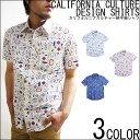 【LOTION】カリフォルニア サーフ 半袖シャツ カジュアル シャツ メンズ リゾート サファリ Mサイズ Lサイズ XLサイズ リゾートスタイル