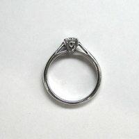 婚約指輪 プラチナ ダイヤモンドエンゲージリング 0.50ct Dカラー SI2 トリプルエクセレントカット GIA鑑定 0.50ct Dカラー SI2 3Excellent