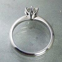 婚約指輪 プラチナ ダイヤモンドエンゲージリング 0.40ct Eカラー VVS1 トリプルエクセレントカット GIA鑑定 0.40ct Eカラー VVS1 3Excellent