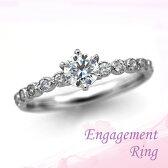 婚約指輪 プラチナ ダイヤモンドエンゲージリング 0.40ctUP Dカラー IF トリプルエクセレントカット GIA鑑定