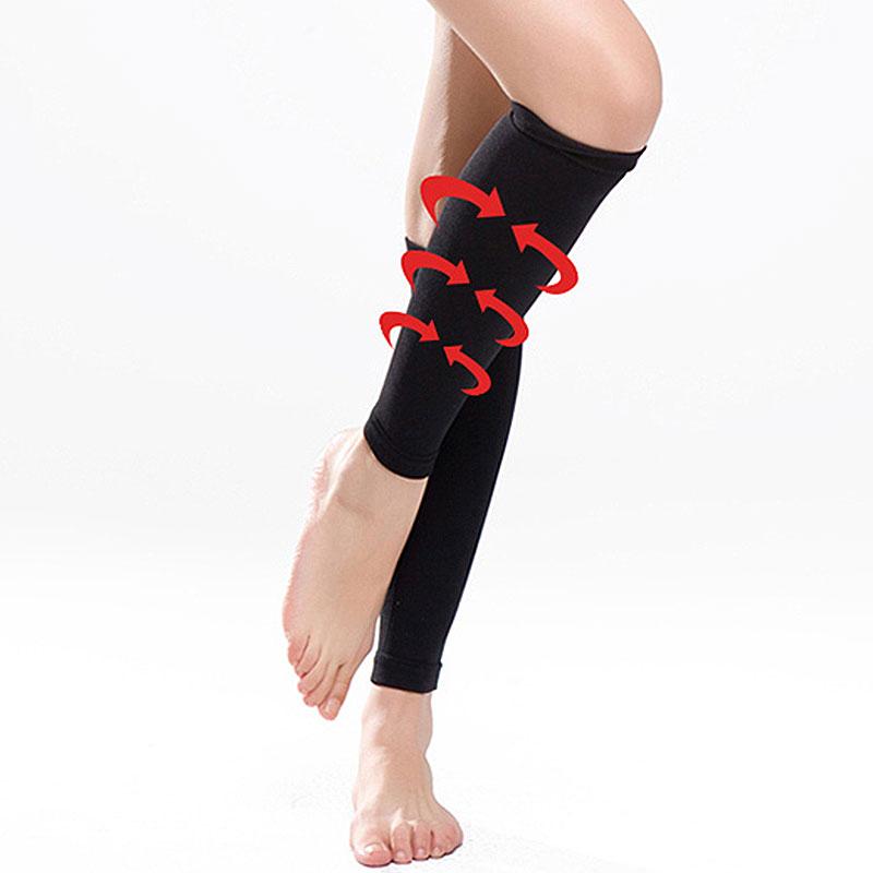 ふくらはぎサポーター着圧ソックス引き締め脚痩せ足痩せ脚やせ足やせ弾性ストッキングむくみ対策ダイエット