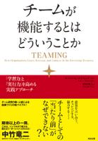 チームが機能するとはどういうことかー「学習力」と「実行力」を高める実践アプローチ