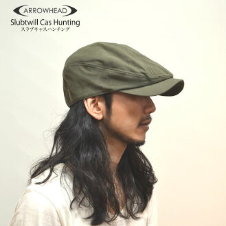ARROWHEAD arrowhead slab twill Cass deerstalker hat adjustable size BIC size (big size golf use) fs2gm