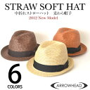 ARROWHEAD arrowhead soft felt hat straw hat straw hat adjustable size BIC size (big size golf use) fs2gm