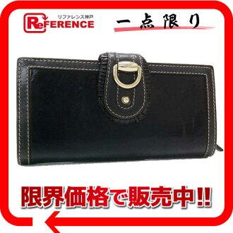 Gucci SABRINA (Sabrina) GG folded round zip wallet dark brown 190346 fs3gm