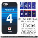 iPhone7 ケース iPhone7 Plus カバー(サッカーユニフォーム:日本代表)(名前&背番号選択可)【iPhone6/6 Plus ケース/iPho...