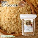 新米 玄米 ひとめぼれ 3kg 送料無料 あす楽 岩手県産 令和元年産 《3kg》 米 お米 3kg