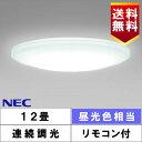 NEC HLDZD1270 LEDシーリング 12畳 昼光色 調光タイプ