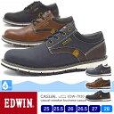 【送料無料】EDWIN メンズ 4cm防水/防滑スニーカー 7920 25.0/25.5/26.0/26.5/27.0/28.0/シューズ/メンズ スニーカー/靴/