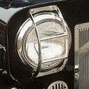 サン自動車 ライトガード ステンレス 三菱ジープ