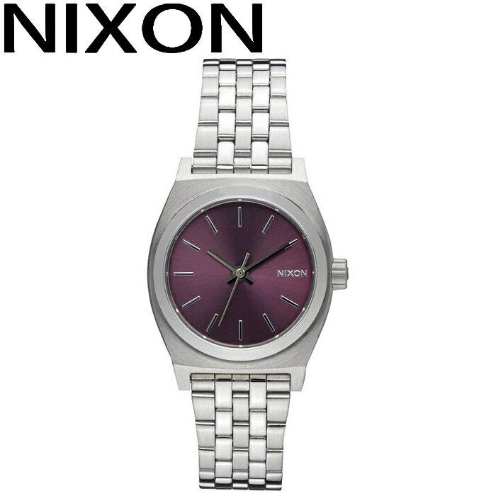 ニクソン NIXON スモールタイムテラー時計 腕時計 レディースパープル A399-2157 【G1】