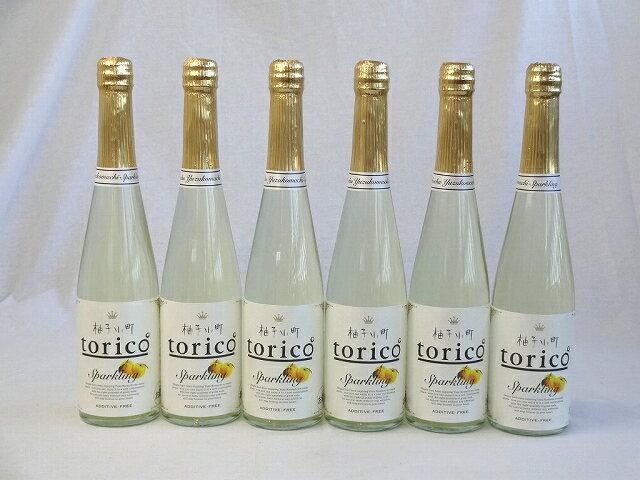 9本セット柚子小町 torico ゆずこまち トリコ スパークリング 500ml×9本