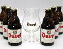 デュベル専用グラス付き6本セット 【ベルギー】
