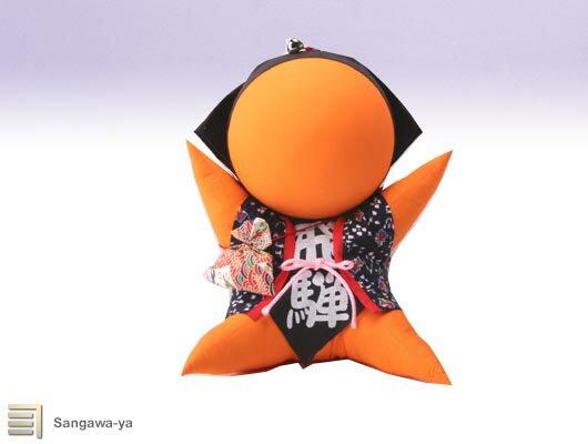 オレンジさるぼぼの商品画像