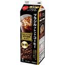 スジャータ めいらく ブラジルコーヒー豆 100%使用 アイスコーヒー 無糖 1L