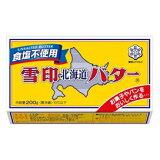 这是其中一个盒子销售出去。未使用的盐200克黄油Hokkaidou Yukizirushi[1箱からの販売です。雪印北海道バター食塩不使用200g]