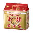 1回の送料で3箱までお届け可能です。東洋水産 マルちゃん正麺 醤油味 1箱5食入×6袋
