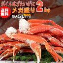 送料無料 ボイルズワイガニ1肩350g超5Lずわい蟹メガ盛り3.2kg化粧箱...