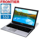 フロンティア ノートパソコン [15.6型フルHD Windows10 Core i7-8550U 16GB メモリ 275GB M.2 SSD 1TB HDD 無線LAN] FRNLKR800ML/E4 FR..