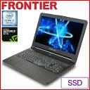 【PSO2】フロンティア ノートパソコン [15.6インチ/Windows10/Core i7-7700HQ/4GBメモリ/256GB NVMe SSD/ 1TB HDD/GeForce GTX1060] FR..