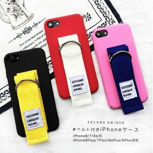 SECOND UNIQUE iPhone8 iPhone8Plus ケース 韓国 ベル