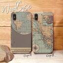 iPhoneX ケース iPhone8 ウッドケース iPhone8Plus wood ケース XperiaZ5 woodケース iPhone7 iPhone7Plus iPhone6s/6sPlus iPhoneSE 木製 ケース 地図 世界地図 古地図 航海 コンパス 大陸 アトランティス かっこいい おしゃれ 木目ケース