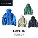 ショッピングスノーボードウェア PLAYDESIGN プレイデザイン 17-18 LOVE JK ラブ ジャケット スノーボード ウェア ユニセックス