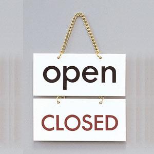 open/CLOSEDプレートの商品画像