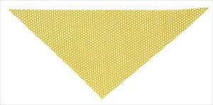 キラキラメッシュスカーフ 黄