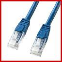 サンワサプライ つめ折れ防止 CAT6 カテゴリ6 LANケーブル 15m ブルー KB-T6TS-15BL 【05P01Oct16】