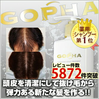 Improved treatment scalp environment! GOPHA ゴーファ scalp treatment 300 g * education hair from hair reap med