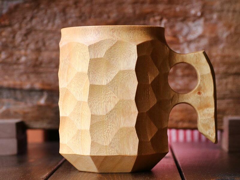 Akihiro woodworks - JINCUP (2L) [アキヒロジン JIN AKIHIRO ジンカップ ハンドメイド木製カップ]