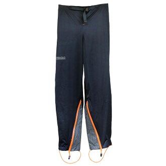 OMM Kamleika 褲黑 / 橙色 [原山馬拉松 OEM em 來到徠卡靛藍雨褲黑色/橙色]