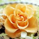 【即納】 プリザーブドフラワー 結婚祝い 誕生日プレゼント Serena セレナ −04 ピーチ−