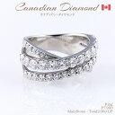 ◆カナディアンダイヤモンド◆リング 計2.00ctUP [PT950]