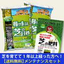 【送料無料】[自然応用科学]芝を植えて1以上経った方へオススメの芝のメンテナンスセット[肥料][芝生]