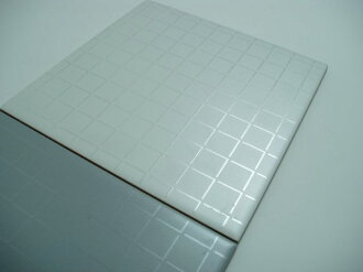 Italy tiles white relax metallic sheet set 200 x 200 x 7