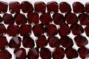 【メール便対応】スワロフスキー製 ビーズ ソロバン型アクセサリー用【Beads】【4.0mm】50ヶ #5328 ガーネット