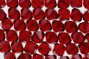 【メール便対応】スワロフスキー製 ビーズ ソロバン型アクセサリー用【Beads】【4.0mm】50ヶ #5328 シャム