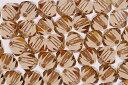 【メール便対応】スワロフスキー製 ビーズ ソロバン型アクセサリー用【Beads】【3.0mm】50ヶ #5328 ライトコロラドトパーズ