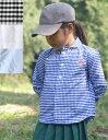 【ネコポス対応】【キッズ】【2018AW】DANTON (ダントン)キッズラウンドカラーシャツ(