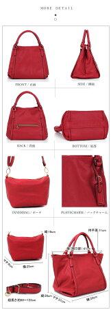 送料無料選べる全12色フェイクレザー3wayバッグ大容量軽量バッグ通勤通学にオススメシンプルバッグレディースカバン鞄